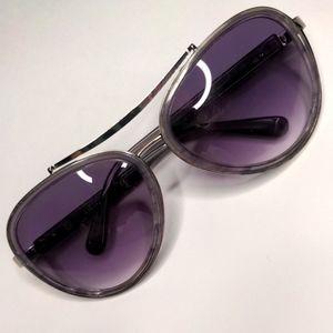 House of Harlow Lynn Fog Aviator sunglasses purple